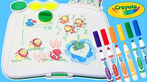 color wonder art desk crayola color wonder mess free art desk with fun lion