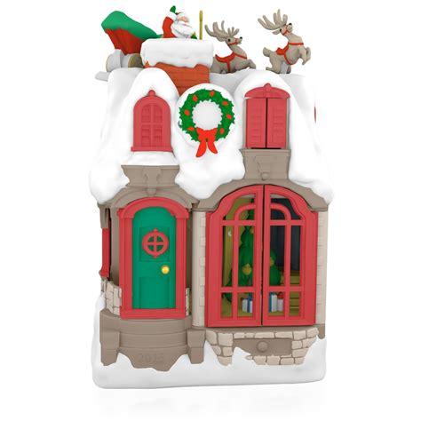 hallmark ornaments 2015 up on the housetop hallmark keepsake ornament
