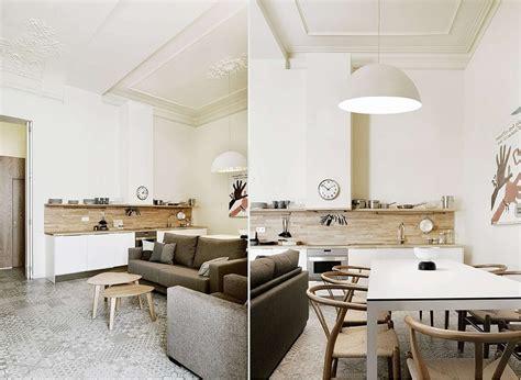 sala y cocina concepto abierto
