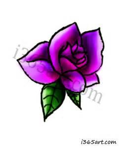 purple flower i365art