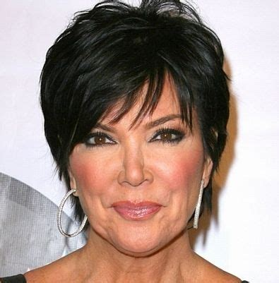 does kris jenner have thick hair 40 best kris jenner haircut images on pinterest