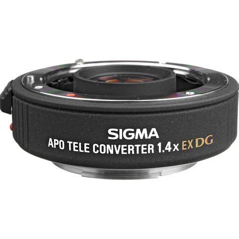 sigma apo teleconverter 1 4x ex dg sigma 1 4x dg ex apo teleconverter for sony minolta 824205 b h