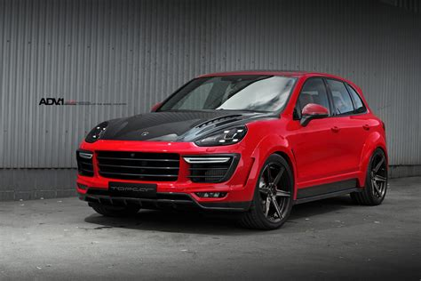 red porsche black wheels red porsche cayenne adv6 m v2 sl wheels brushed