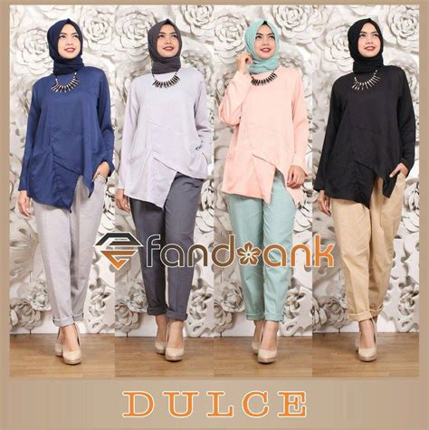 Tunik Linen Fit To Kancing Depan Busui supplier baju muslim terbaru