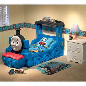 thomas amp friends train toddler bed at hayneedle