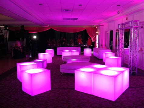 lounge decor led furniture aviance event planning and lounge decor nj