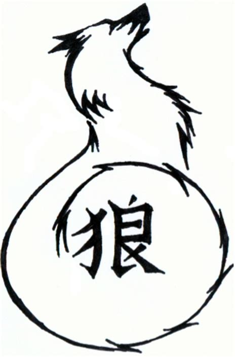 image gallery japanese kanji for wolf