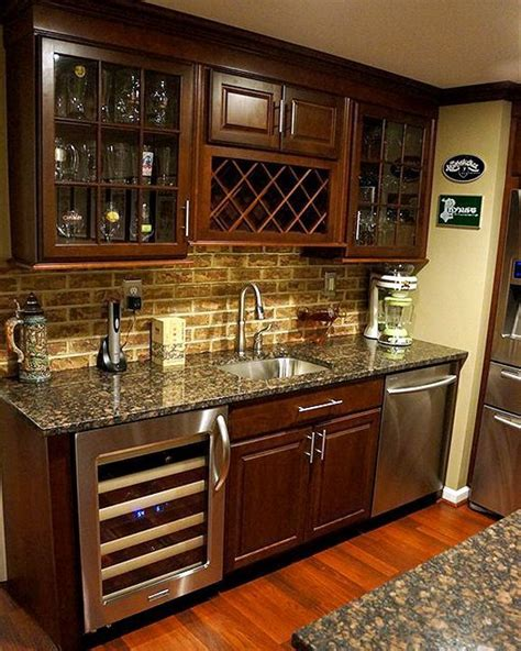 wet bar kitchen designs decobizz com 35 best images about wet bar designs on pinterest stain