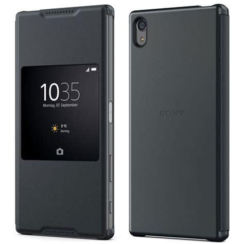Ume Flip Cover Sony Experia Z5 new genuine sony scr46 xperia z5 premium smart style up