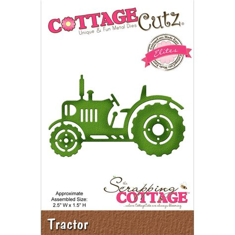 Cottage Cutz Elites Die Tractor Sunrisecrafts Co Uk Cottage Cutz Dies