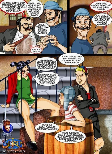Chaves Turma Da Vila Hq Comics