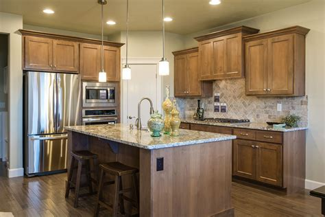 kitchen   albany plan  clear alder cabinets