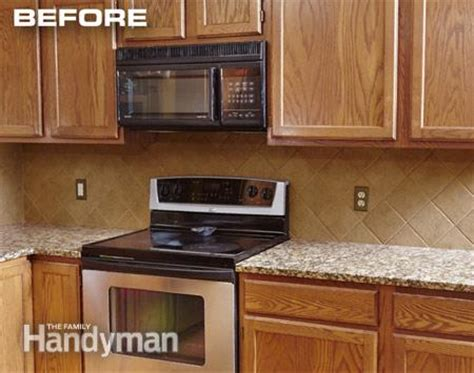 cabinet refacing the family handyman