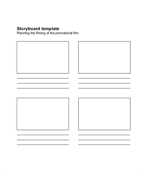 Story Board Template 8 Free Word Pdf Documents Download Free Premium Templates Storyboard Templates Word