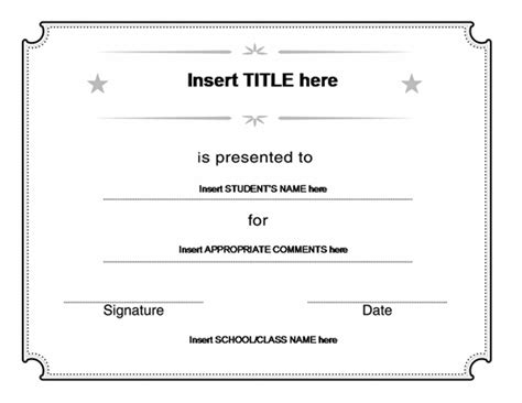gift certificates templates images