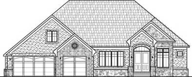 Drawing Of A House With Garage by Modern Bungalow House Floor Plans Design Drawings 2