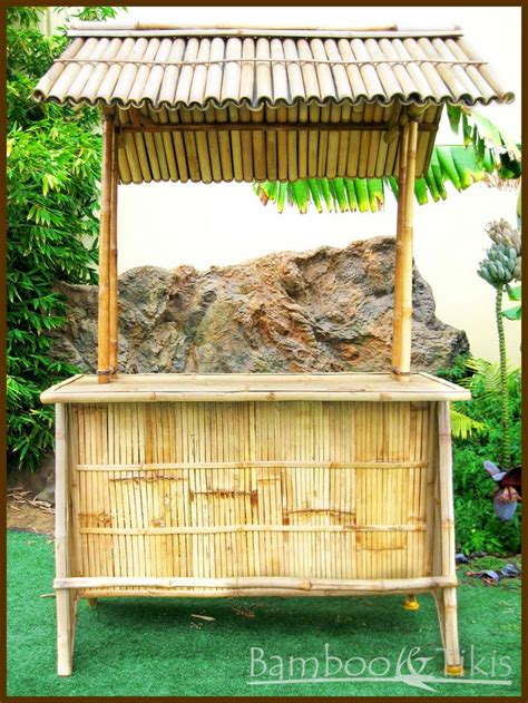 Bamboo Tiki Bar With Roof Tiki Bar With Bamboo Roof Bambu