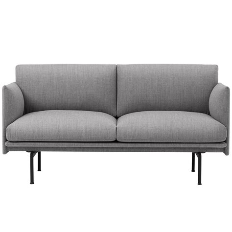 sofa studio 140 cm outline sofa studio muuto connox
