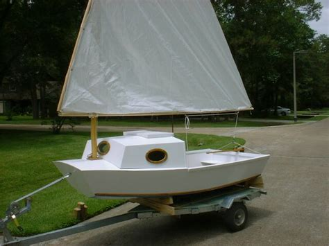 sailboat with cabin tosher 10 sailboat cute pram with a cabin