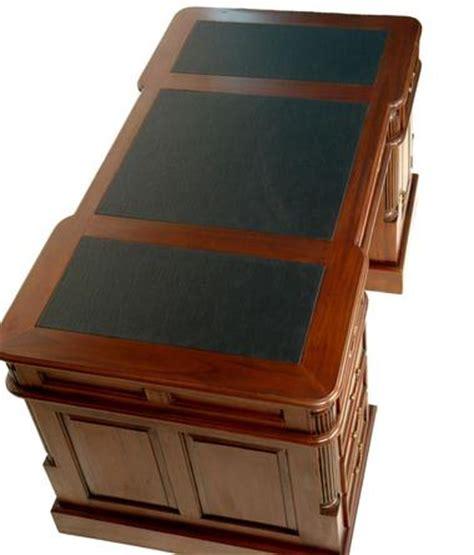 bureau de notaire bureau de notaire 180cm meuble en bois acajou medecin
