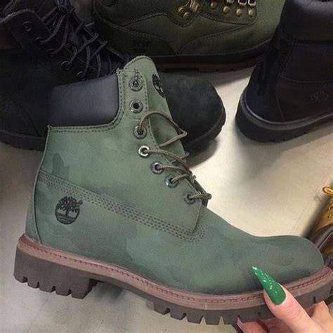 army green timberland boots shoes timberland army green boot lace up timberlands