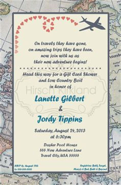 Travel Party Invitations Cimvitation Travel Wedding Invitations Template