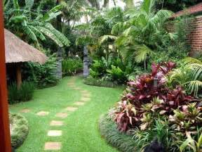 Tropical Backyard Designs by Tropical Backyards Well Maintained Tropical Backyard