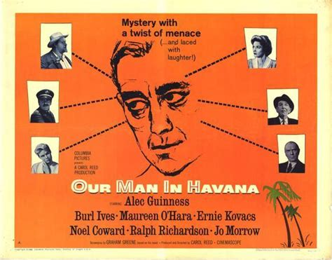 our man in havana 0099286084 하바나의 사나이 our man in havana 1959