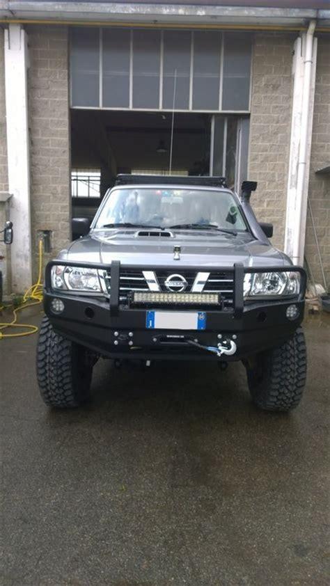 nissan patrol winch bumper heavy duty front winch bumper nissan patrol gr y61