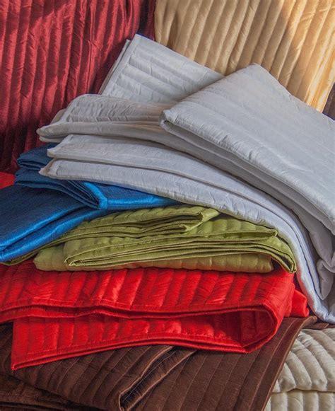 silk quilted coverlet washable dupioni silk coverlet handkraftz