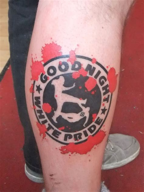 white pride tattoo white pride prison tattoos pictures to pin on