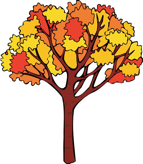 Fall Tree Clipart september leaves clipart clipartsgram