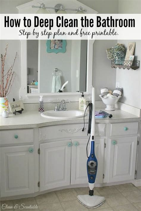 how to deep clean the bathroom toilets steam cleaning