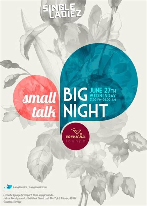 event layout inspiration singleladiez event poster typographic pinterest