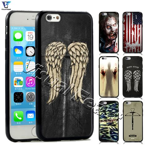 The Walking Dead Casing Iphone 7 6s Plus 5s 5c 4s Cases Samsung 11 the walking dead cover daryl dixon symbol phone