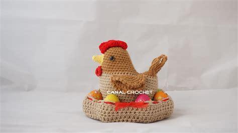 crochet huevos de gallina canal crochet gallina amigurumi tutorial
