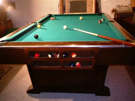 brunswick pool table antique custom billiard tables home decor furniture