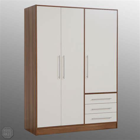Kleiderschrank Nussbaum 2 Türig by Kleiderschrank Walnuss Bestseller Shop F 252 R M 246 Bel Und