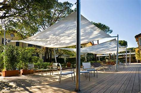 modern outdoor awning with practical design by corradi