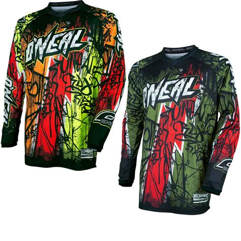 oneal motocross jersey oneal element 2017 vandal motocross jersey motocross