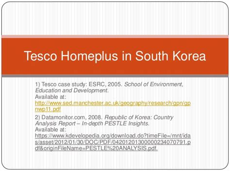 Global Mba Programs In Korea Quora by How Tesco Used The Pestle Analysis To Launch Its Business