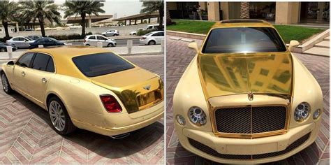 bentley car gold gold bentley mulsanne delivered to al wajba motors in