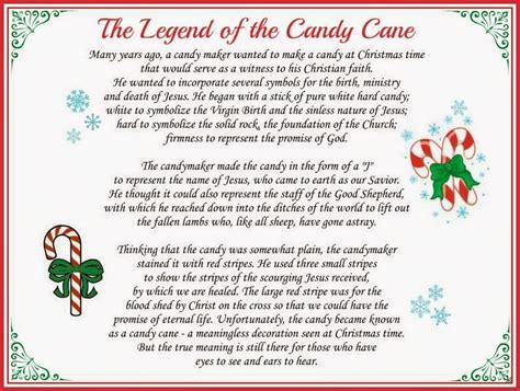 karens korner     legend   candy cane
