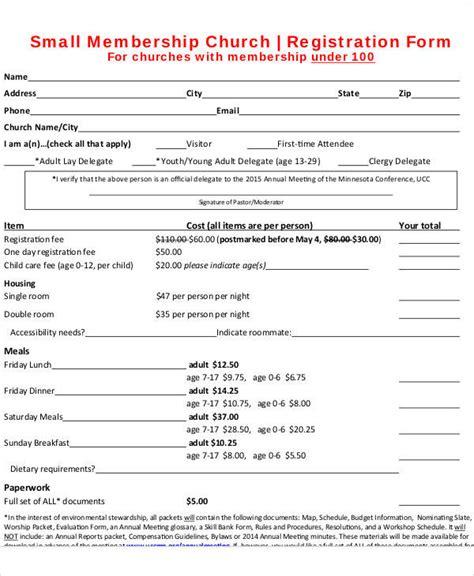 Charming Church Membership Requirements #1: Church-Membership-Registration-Form.jpg