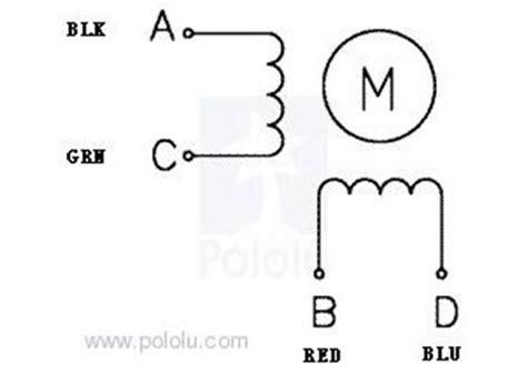 stepper motor bipolar 200 steps rev 3 9v 600ma 180g