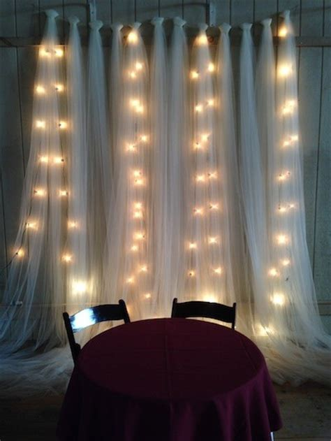 tulle backdrop on pinterest bridal show booths wedding