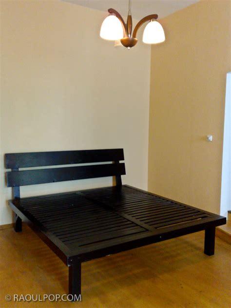 how to make a log bed frame diy how to make a log bed frame plans free