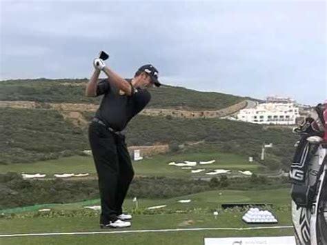 lee westwood swing lee westwood golf swing driver high speed slow motion