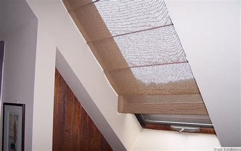 window covering for skylights boston shade installations shades conrads window