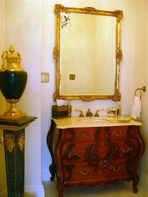 furniture style bathroom vanity design build pros